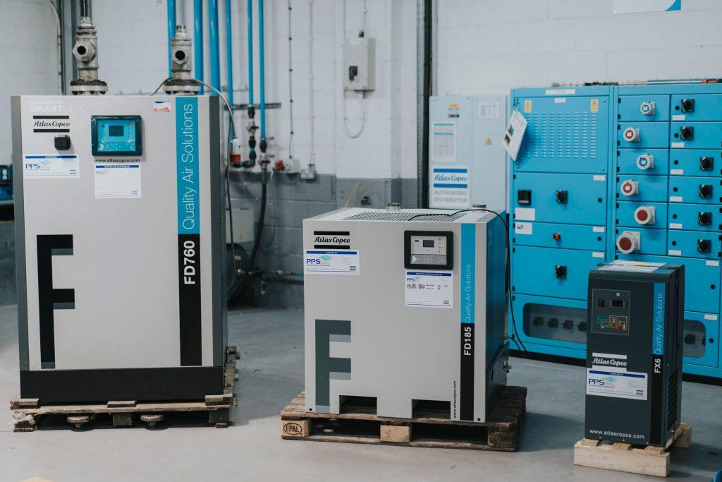 Atlas Copco refrigerant dryers
