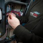 Air compressor being fixed by an experts in pneumatics for Wakefield, Leeds, Halifax, Bradford, and Huddersfield