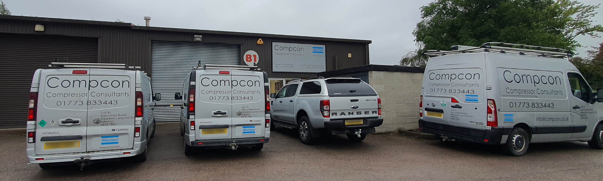 Image of the Compcon branch in Alfreton